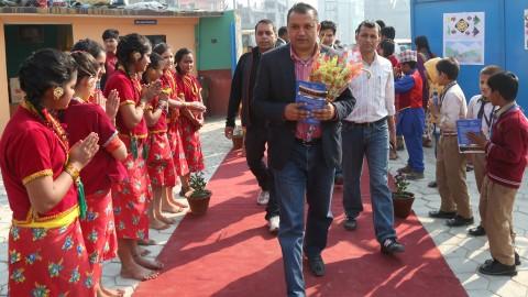 Mokshada School Opening Gagan Thapa