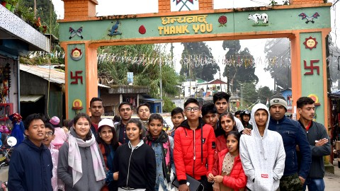 Ilam and Darjiling Educational Excursion- 2076