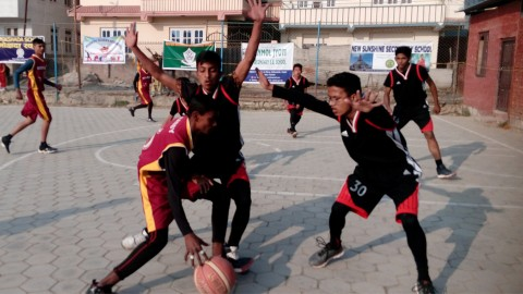 1st in PEF Inter-School Basketball- 2075