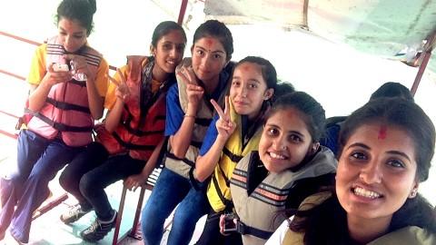 Boating Selfie
