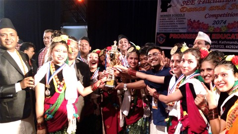 नृत्य प्रतियोगितामा मोक्षदा स्कुल द्वितीय
