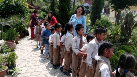 Nursery Visit of Grade UKG & 1